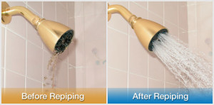 Before and After a Repipe